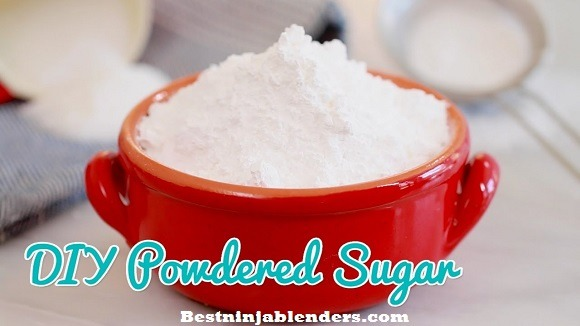 How you can Make Powdered Sugar out of regular sugar