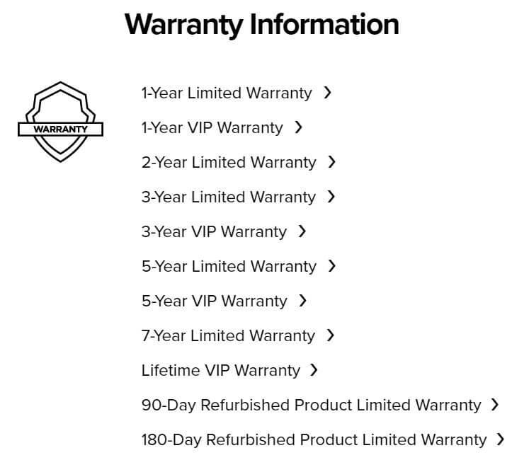 ninja blender warranty system